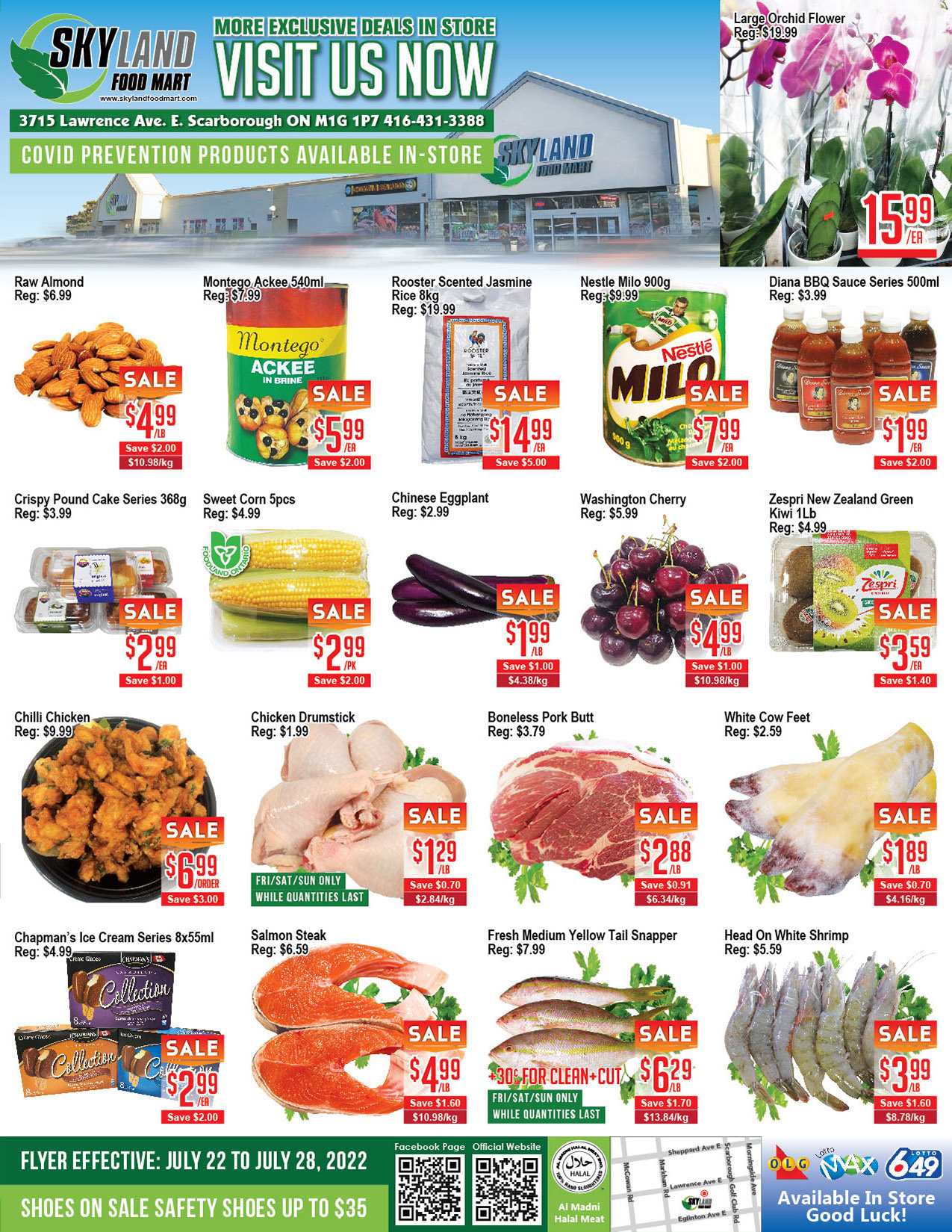 Welcome To Skyland Supermarket